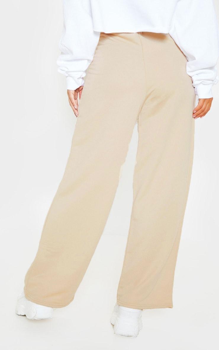 Petite Stone Wide Leg Track Pants 4