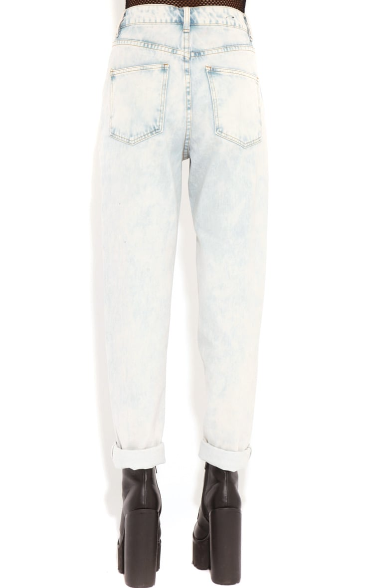 Lana Light Wash Denim Boyfriend Jeans 2
