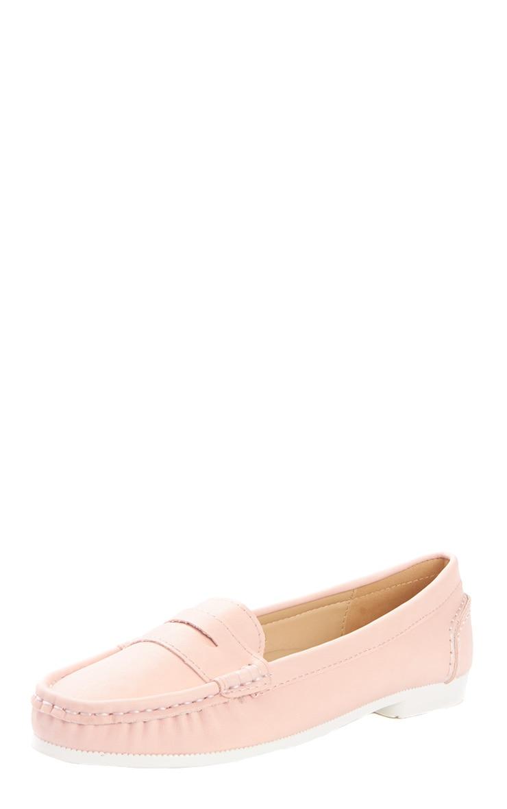 Greta Pink Suede Loafer  3