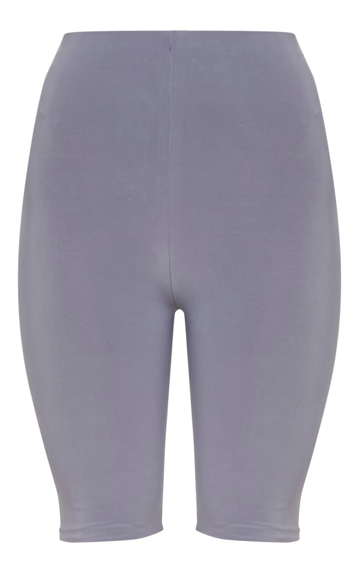 Grey Slinky Longline Cycle Short 2