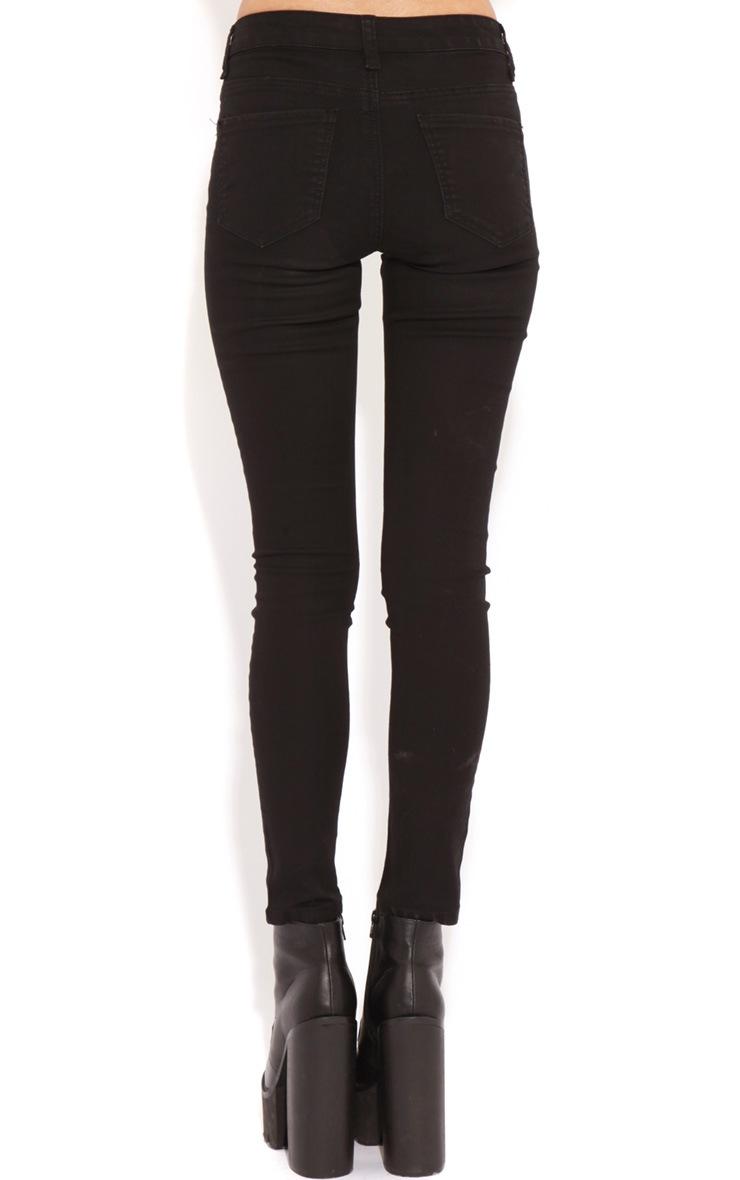 Kimmy Black Skinny Jeans 2