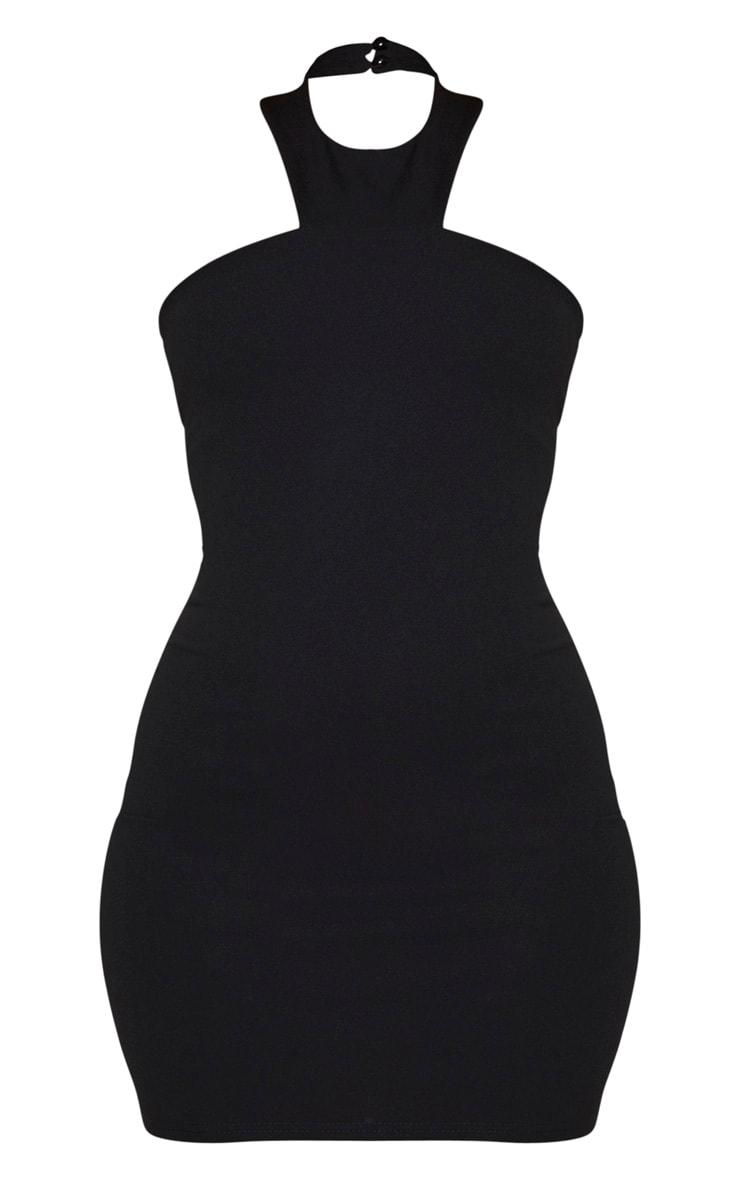 Black Halterneck Bodycon Dress 5