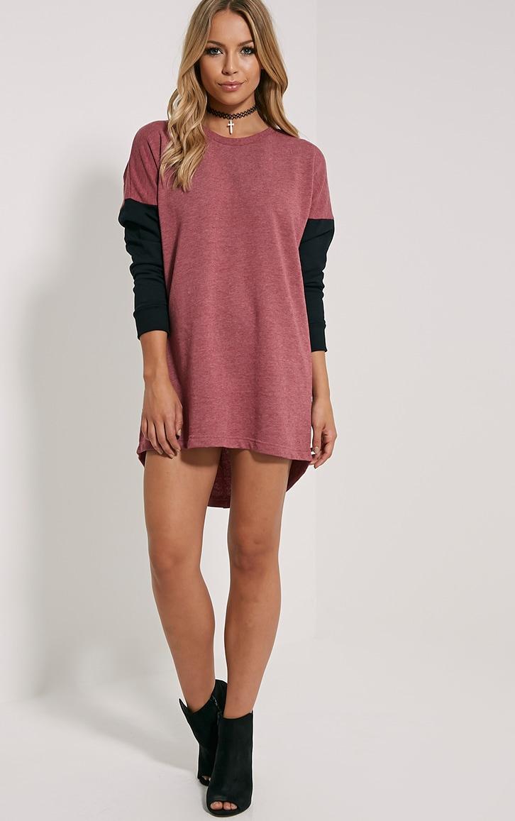 Milena Red Jumper Dress 4
