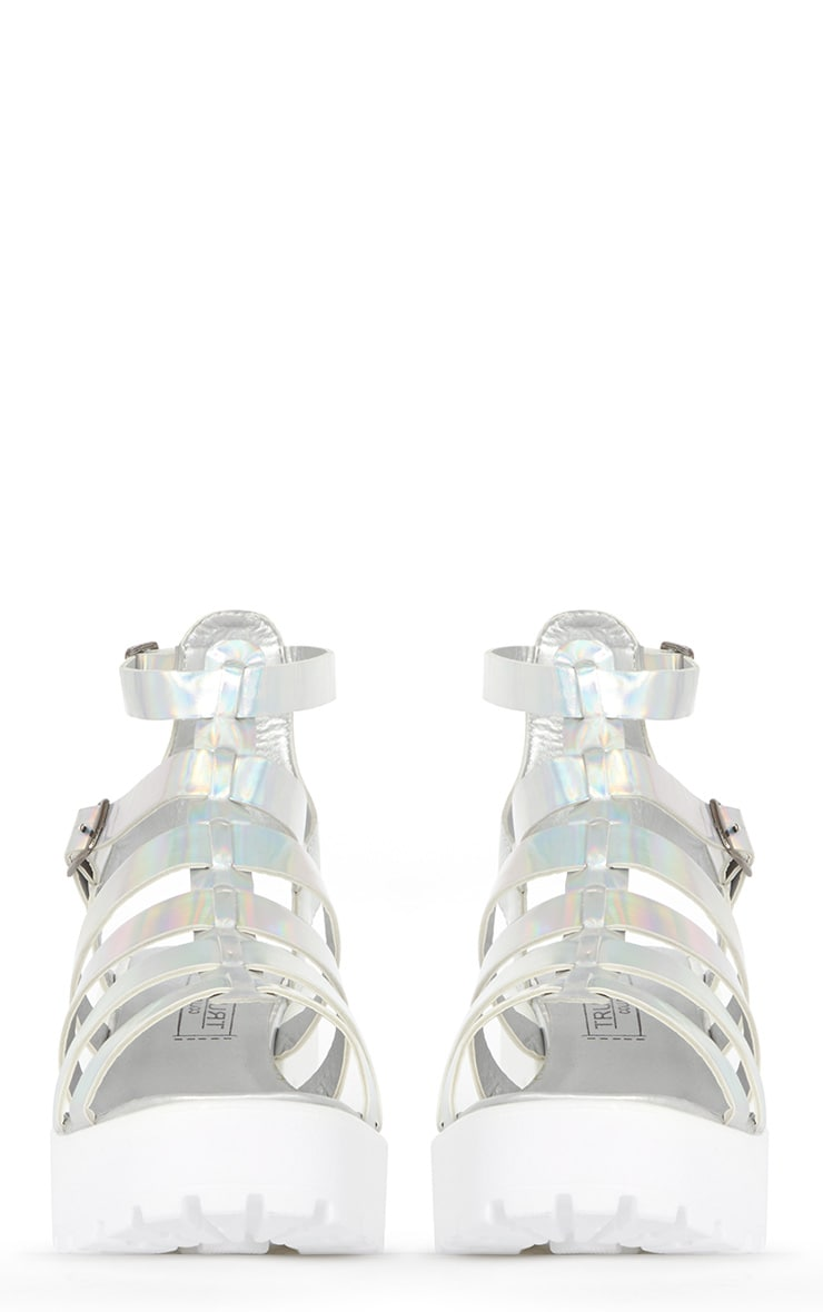 Hanna Metallic Cleated Gladiator Sandal  2