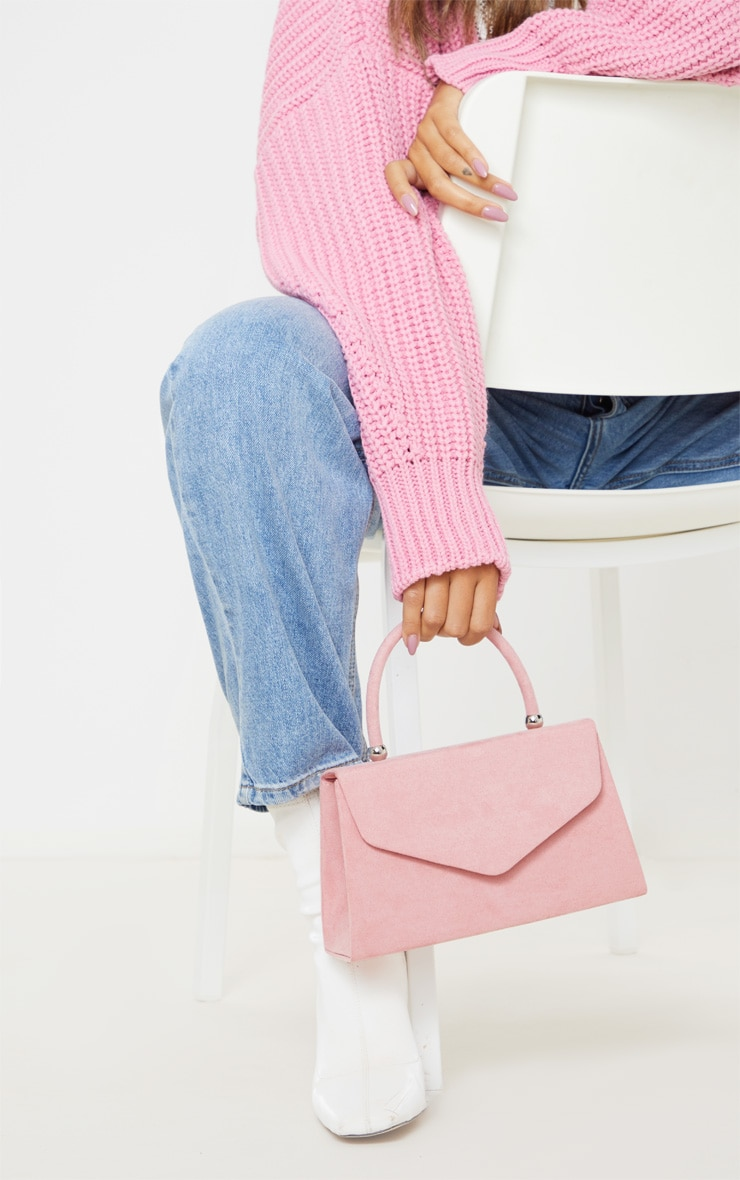Dusty Pink Envelope Large Grab Bag 1
