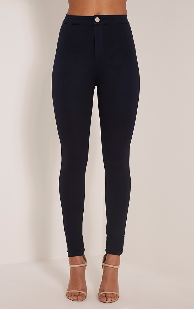 Serinna Navy High Waisted Jeggings 2
