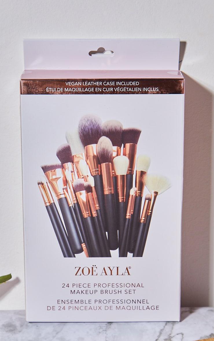 Zoe Ayla 24 Piece Makeup Brush Set 4