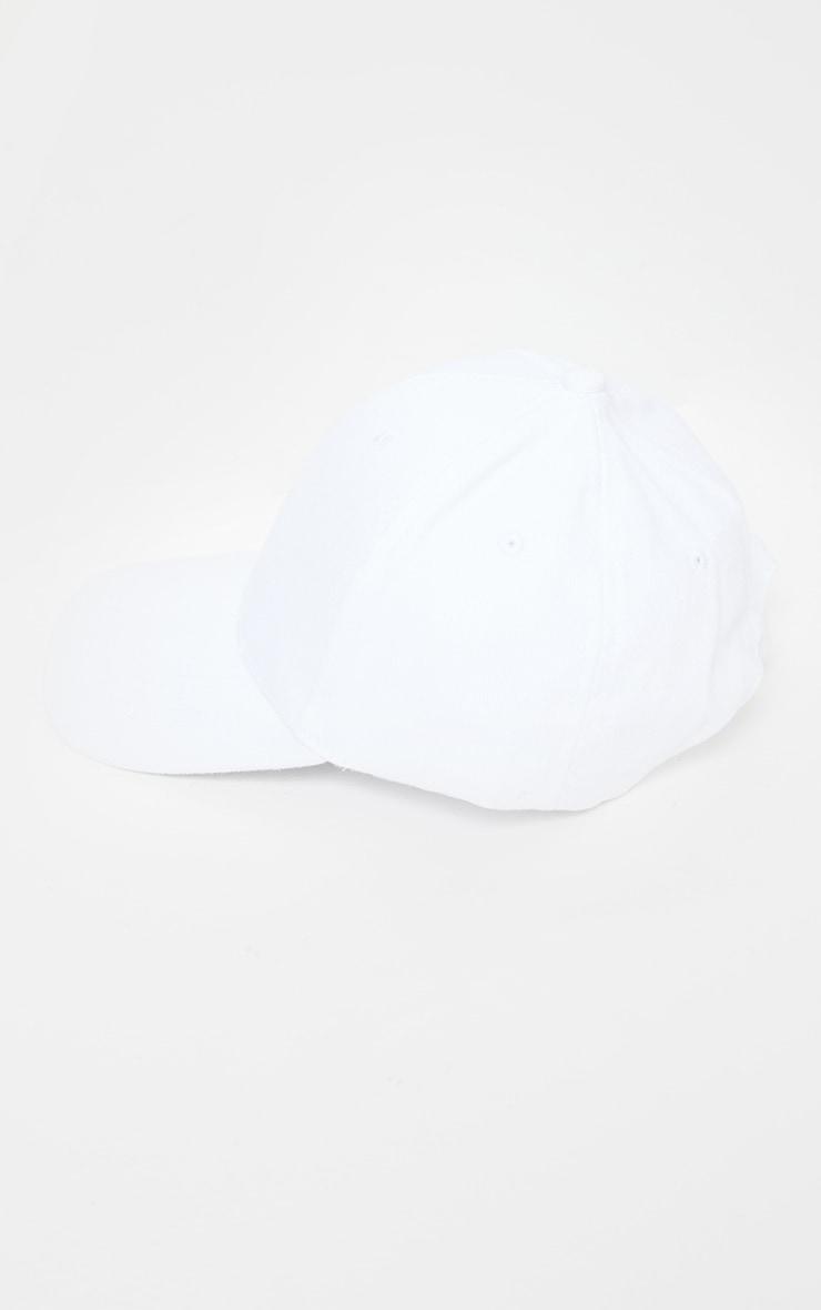 Casquette de baseball blanche 3