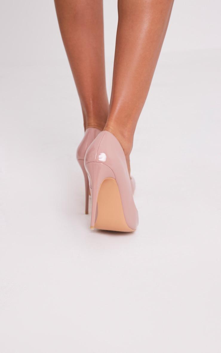 Karinna Rose Patent Pointed Heels 2
