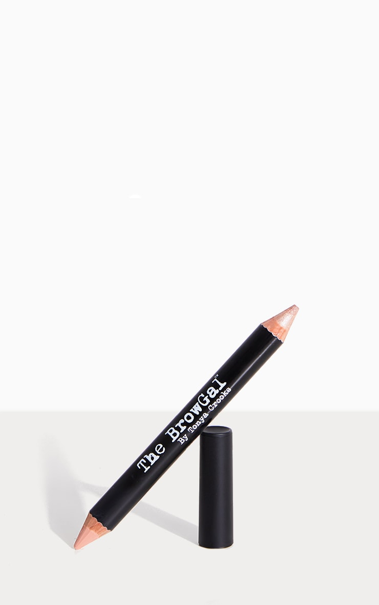 The BrowGal Highlighter Pencil 01 Champagne Cherub