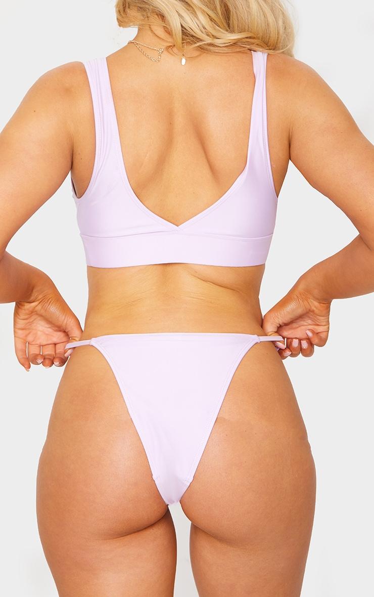 Lilac Mix & Match Itsy Bitsy Bikini Bottom 4
