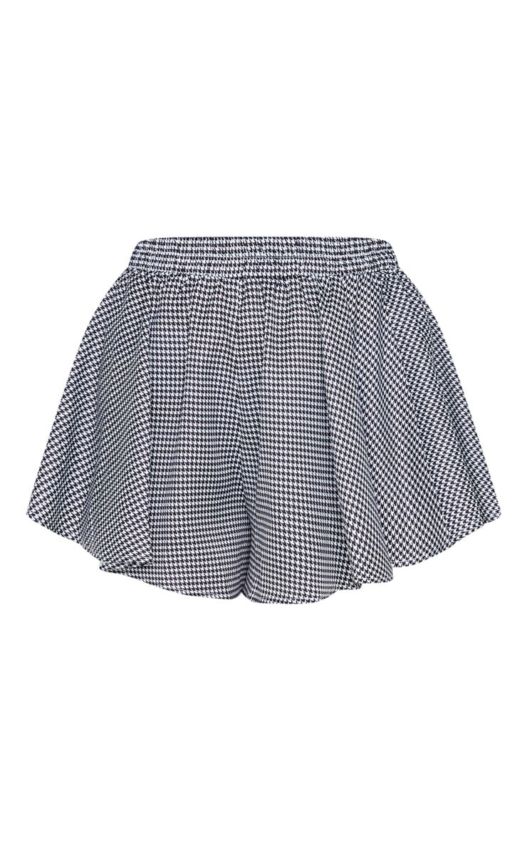 Houndstooth Check Floaty Short 3
