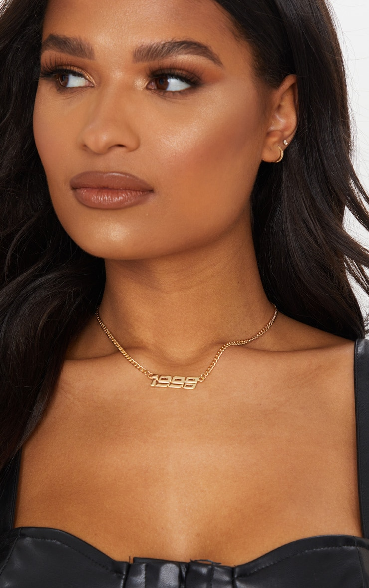 Gold 1998 Necklace 1