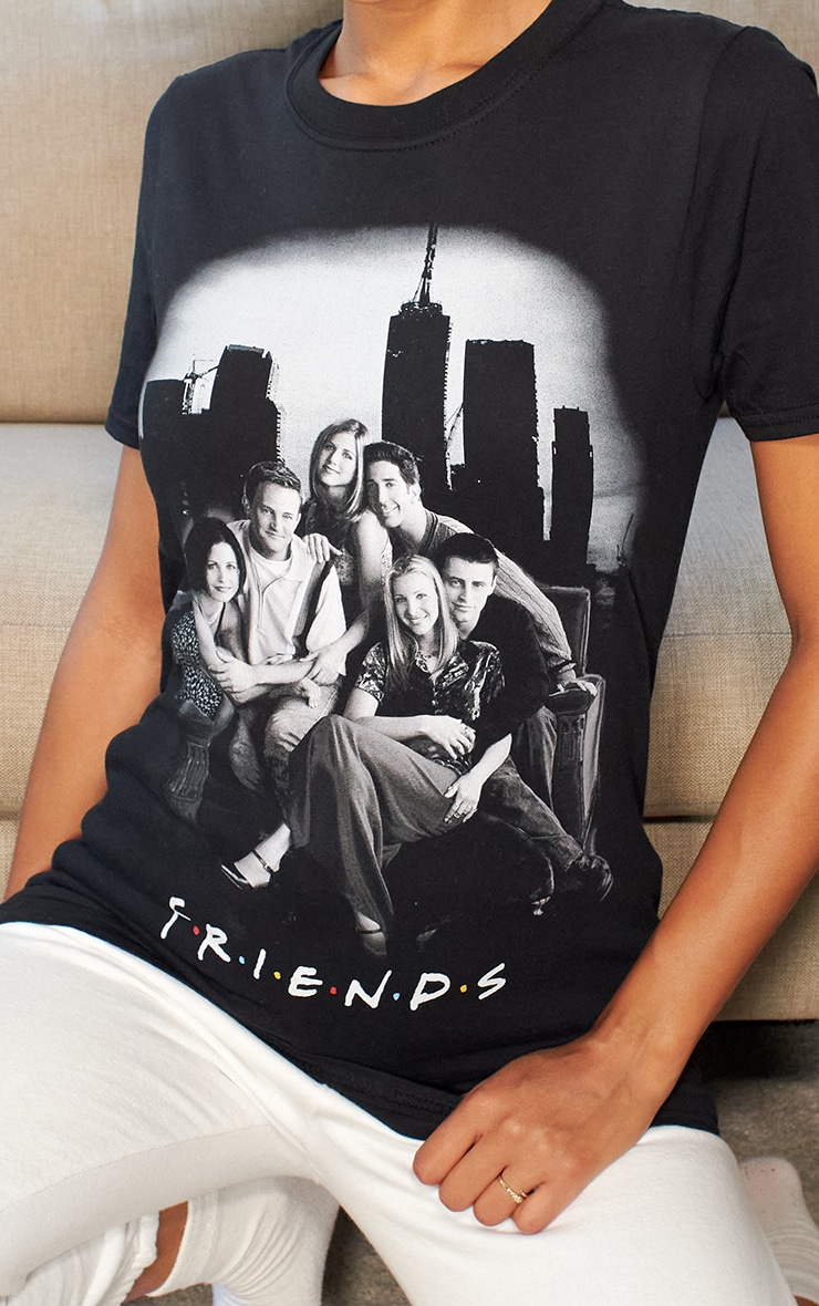Black Friends Photographic Printed T Shirt 5
