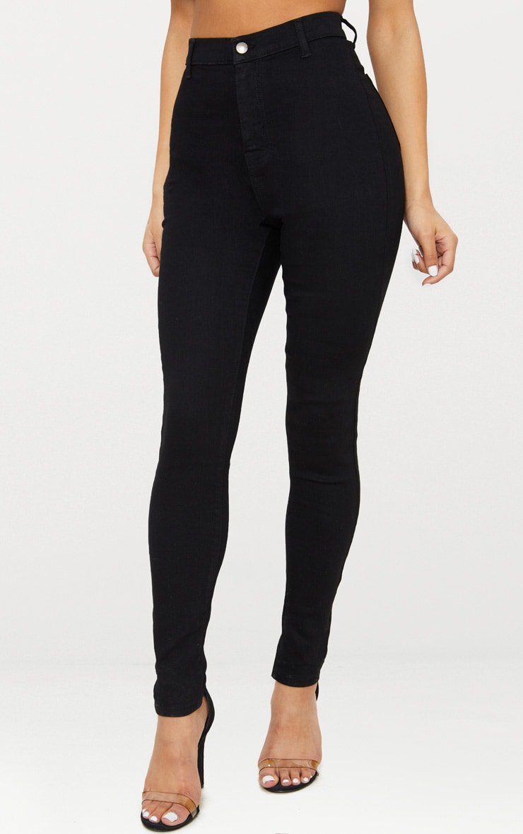 Black Disco Fit Skinny Jean 4