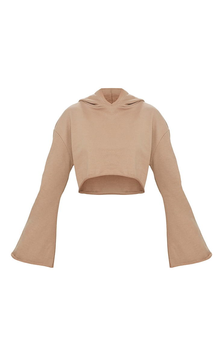 Petite Stone Flare Cuff Cropped Sweater 3