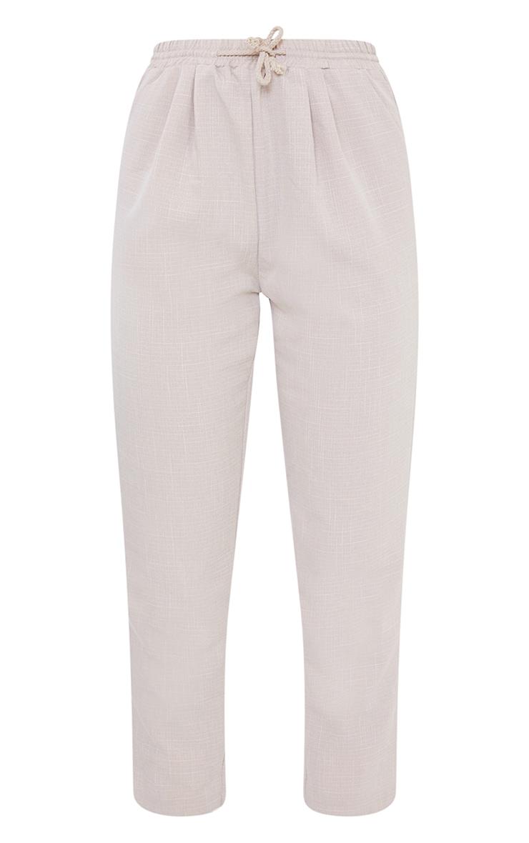 Pantalon style casual gris pierre 5