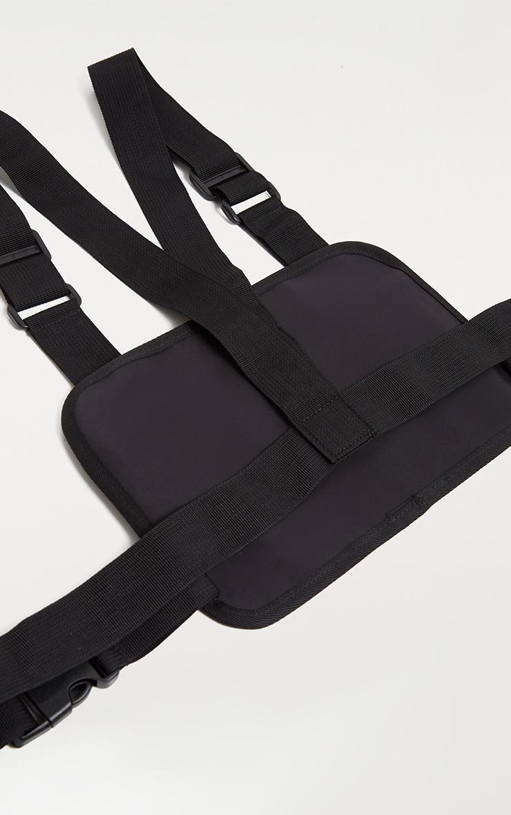 Black Nylon Vest Bag 3