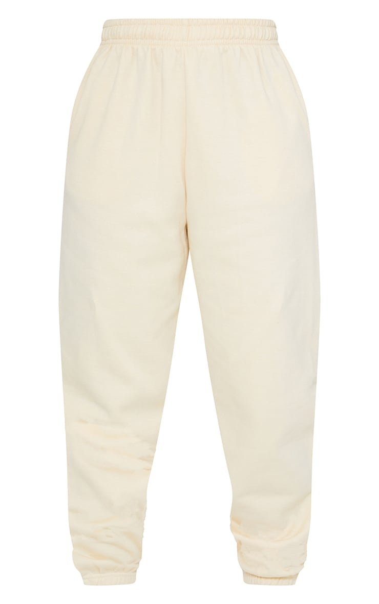 Pantalon de jogging jaune clair casual 5