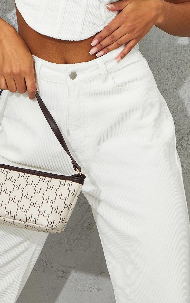 White High Waist Baggy Boyfriend Jeans 4