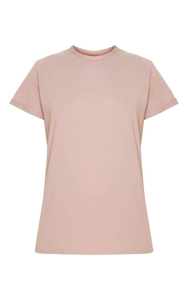 Dusty Pink Boyfriend T Shirt  3