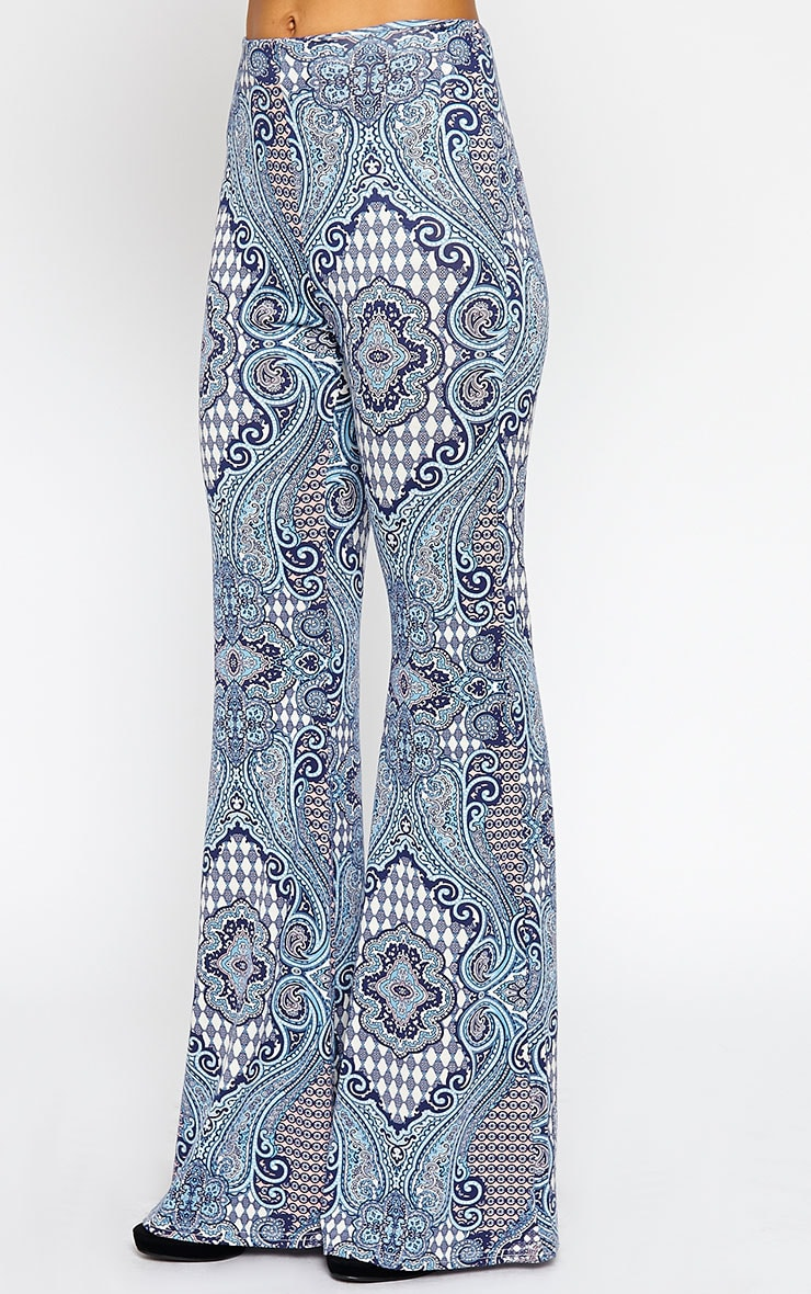 Reeve Print Flare Trousers 5