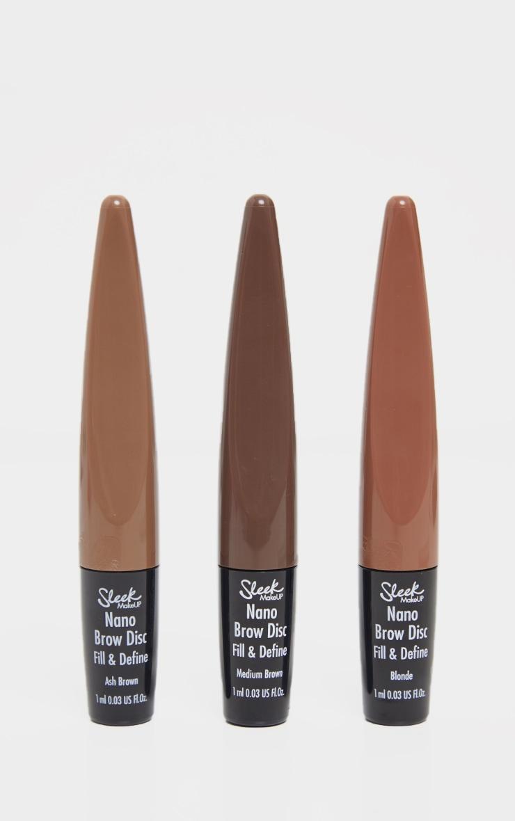 Sleek MakeUP Nano Brow Disc Medium Brown 3