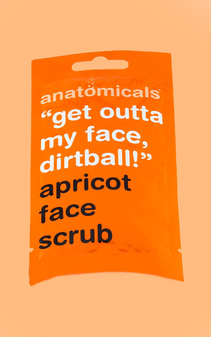 Anatomicals Get Outta My Face Dirtball Face Scrub 1