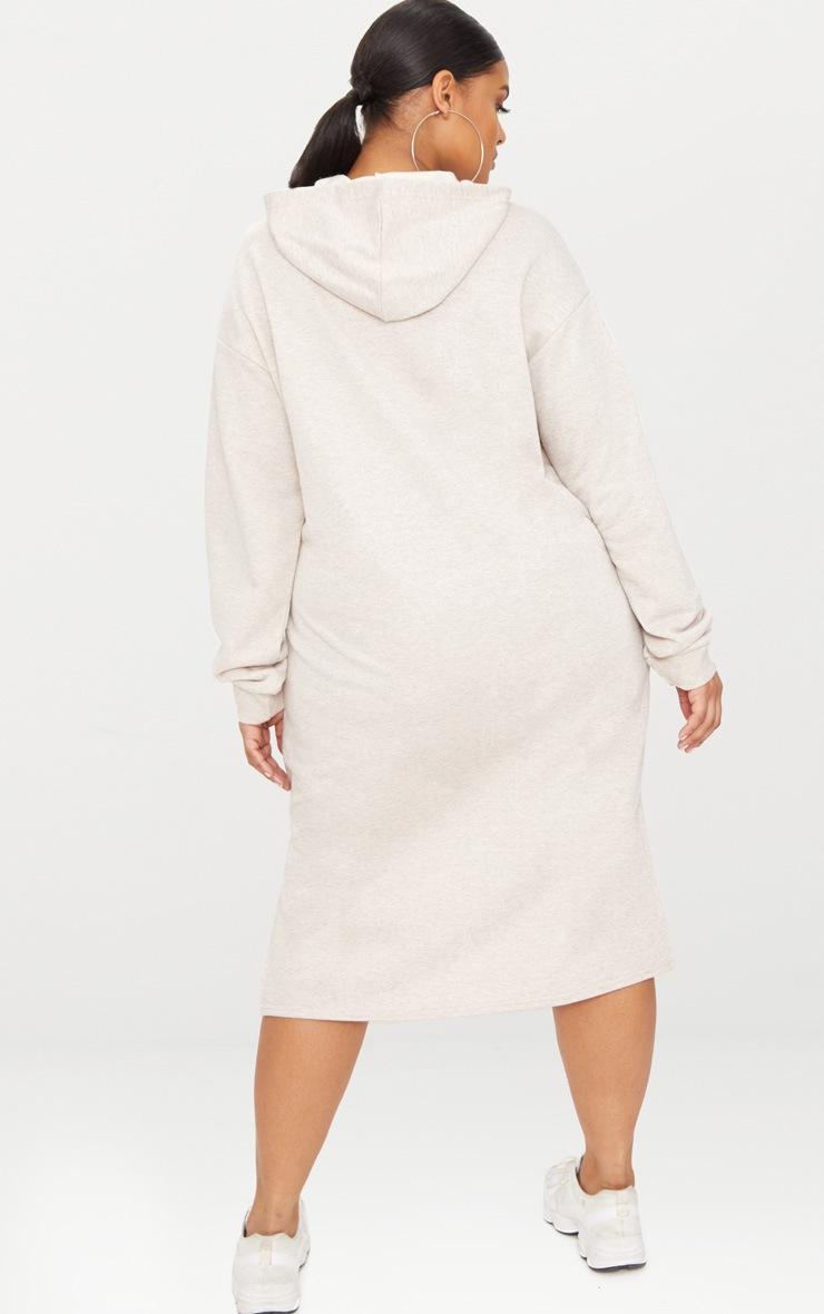 Plus Stone Midi Sweater Dress 2