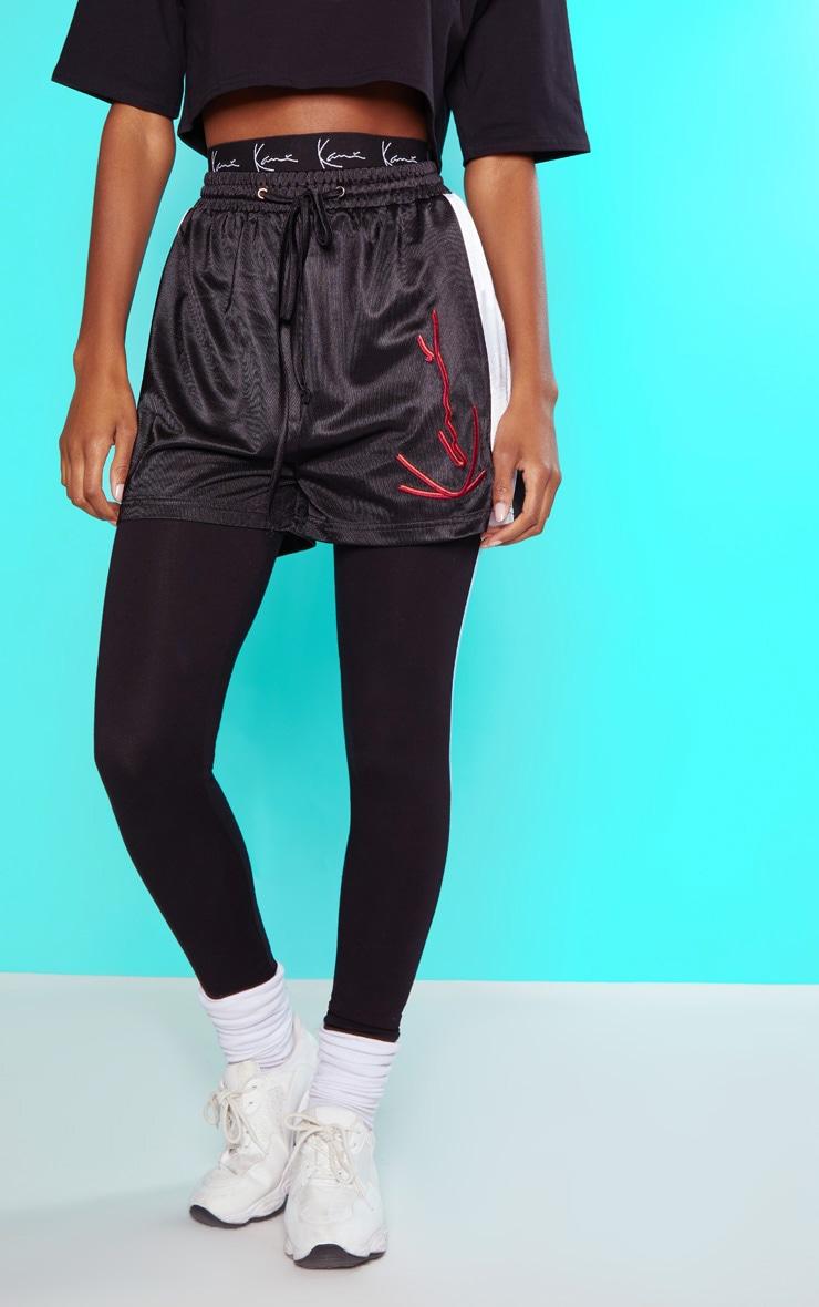 KARL KANI Black Boxer Shorts  3