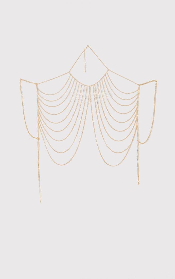 Reyna Gold Body Chain 4