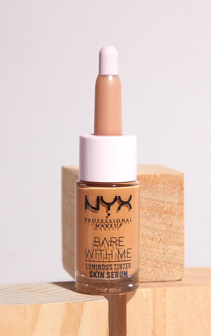 NYX PMU Bare With Me Luminous Tinted Skin Serum Medium 1