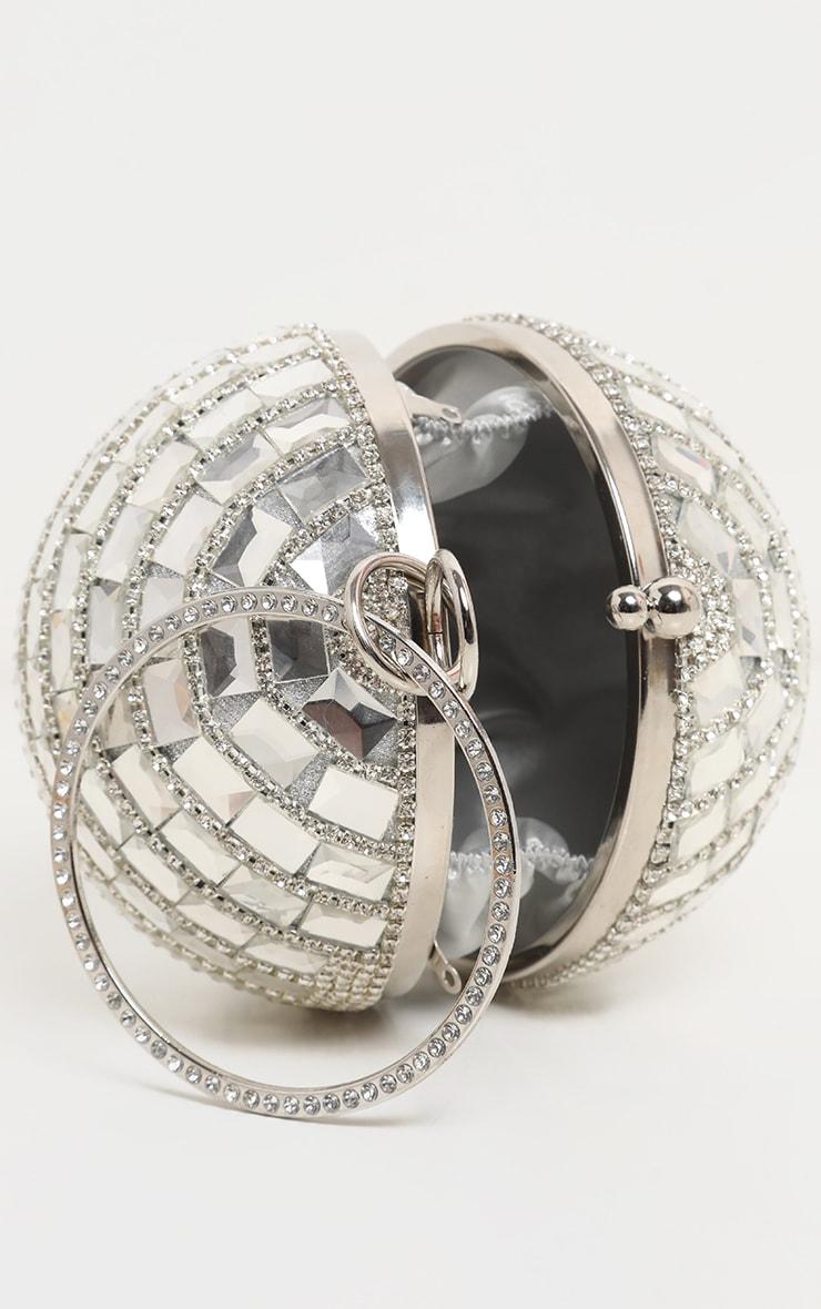 Silver Gemstone Sphere Bag 4
