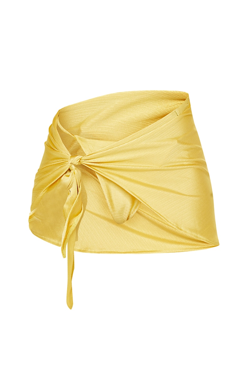 Gold Stripe Sarong 6
