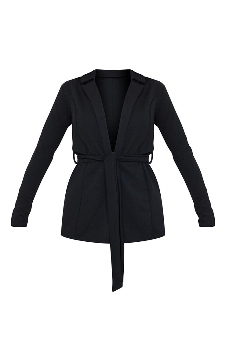 Black Belted Blazer  5