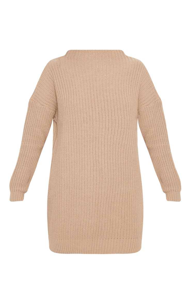 Iffy Stone Oversized Cable Knit Dress 3