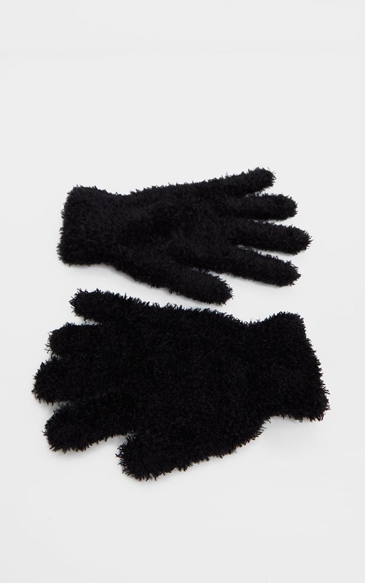 Black Super Soft Basic Glove 2