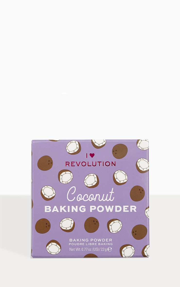 I Heart Revolution Loose Baking Powder Coconut 1
