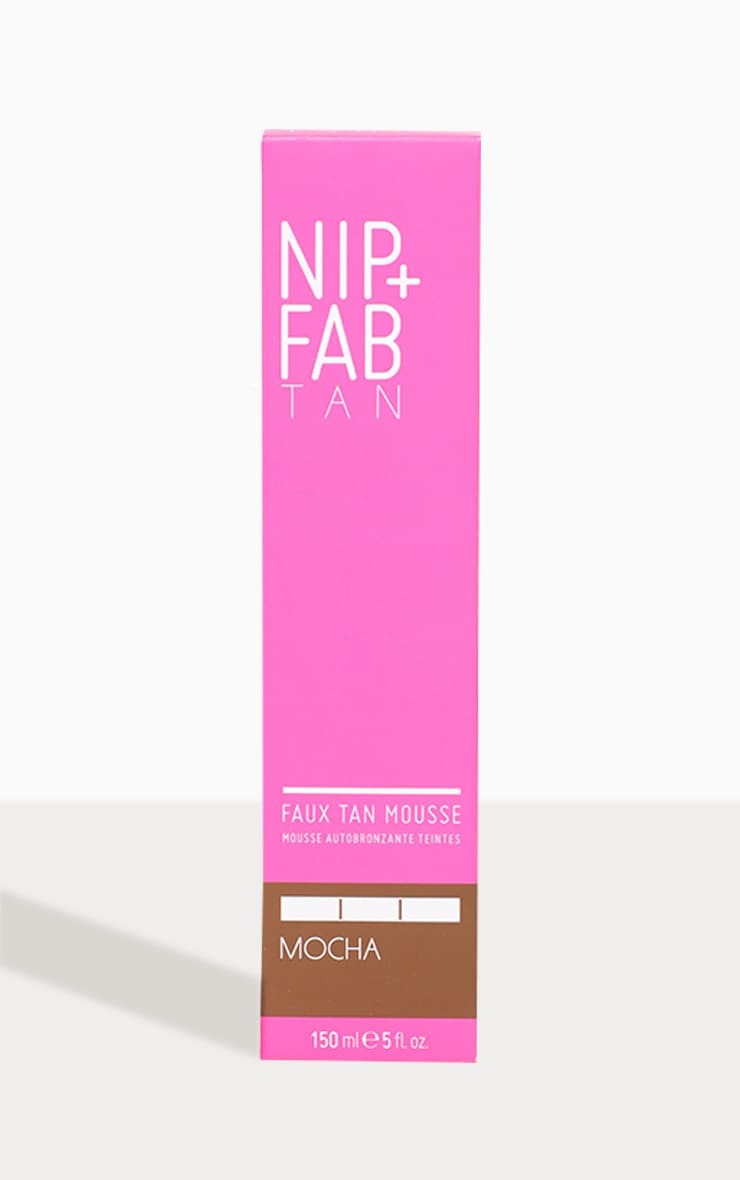 NIP+FAB Faux Tan Mousse Mocha 150ml 2