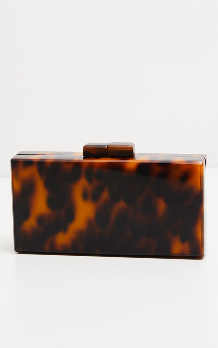 Tortoiseshell Resin Clutch 2