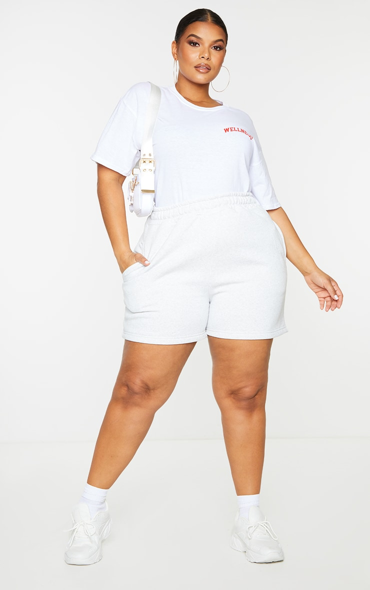 Plus Wellness White T Shirt 3