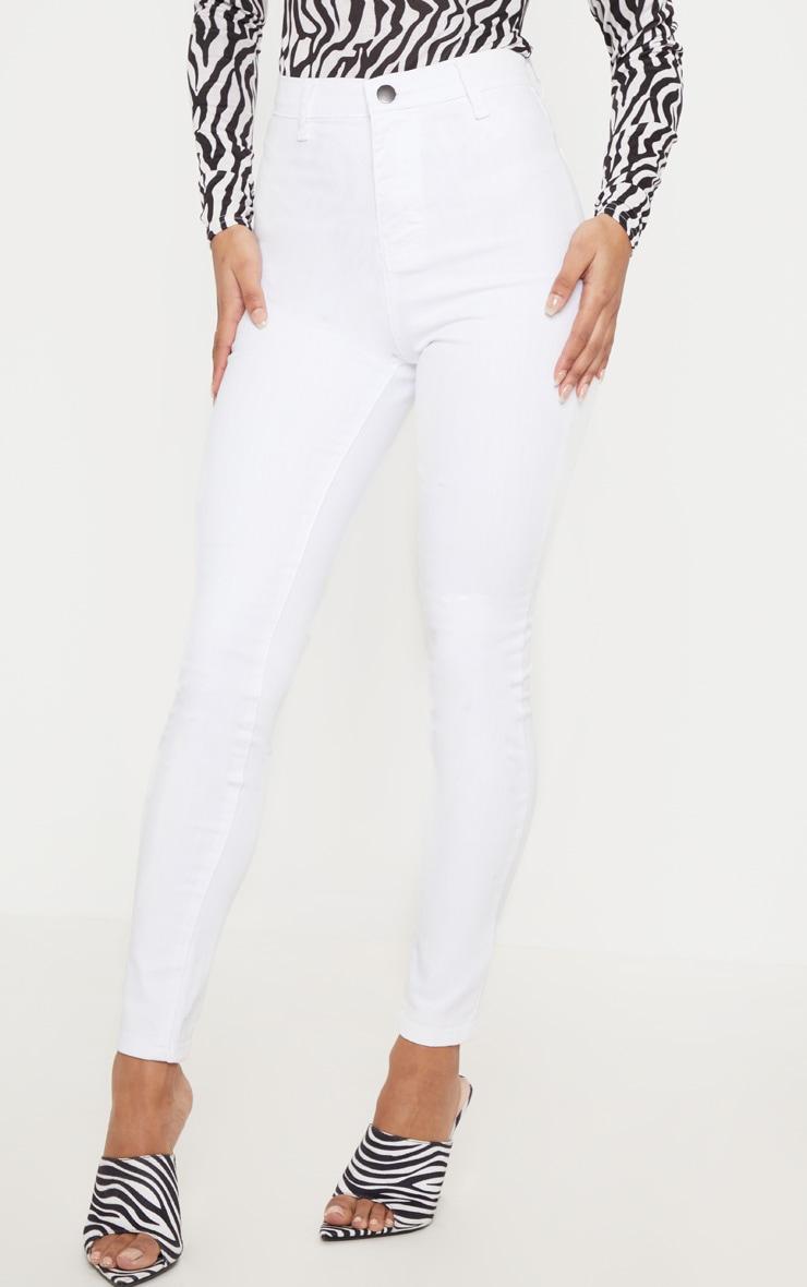 White Disco Skinny Jean 2