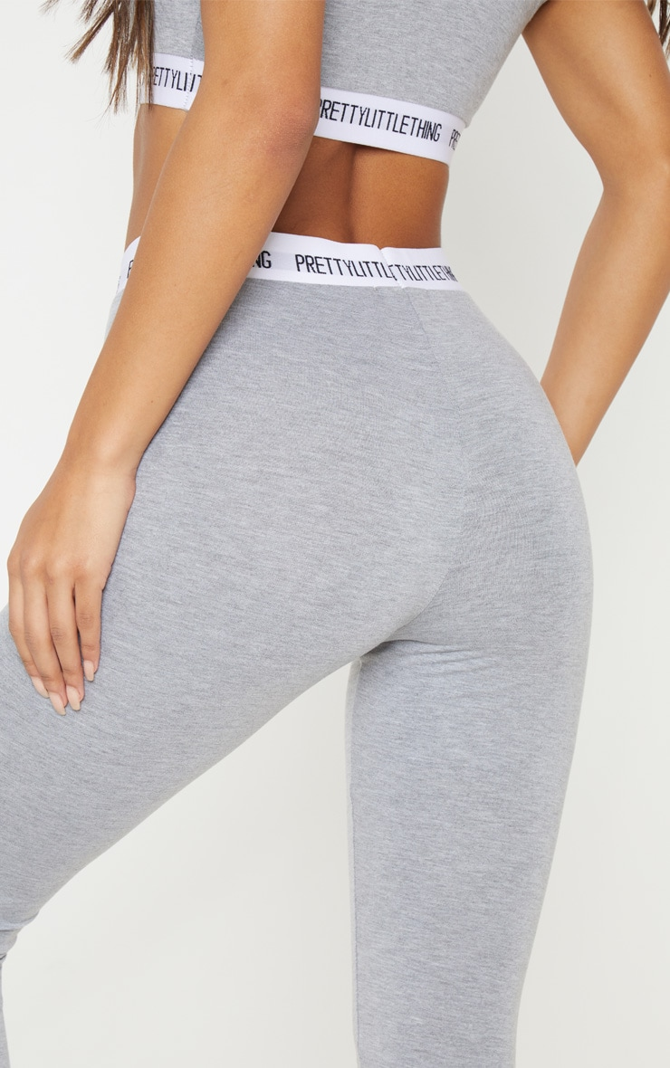 PRETTYLITTLETHING Grey Leggings 5