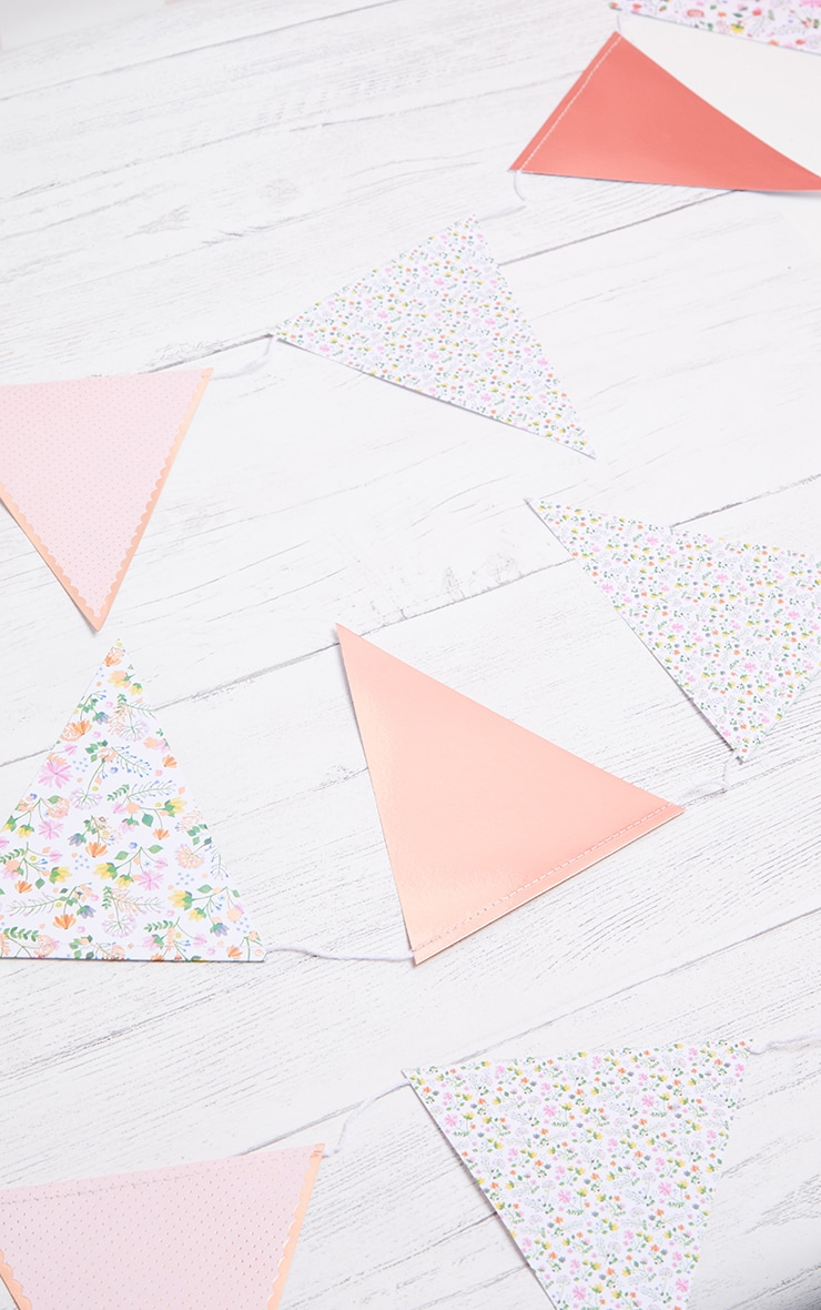 Ginger Ray Bunting  Ditsy Floral  1