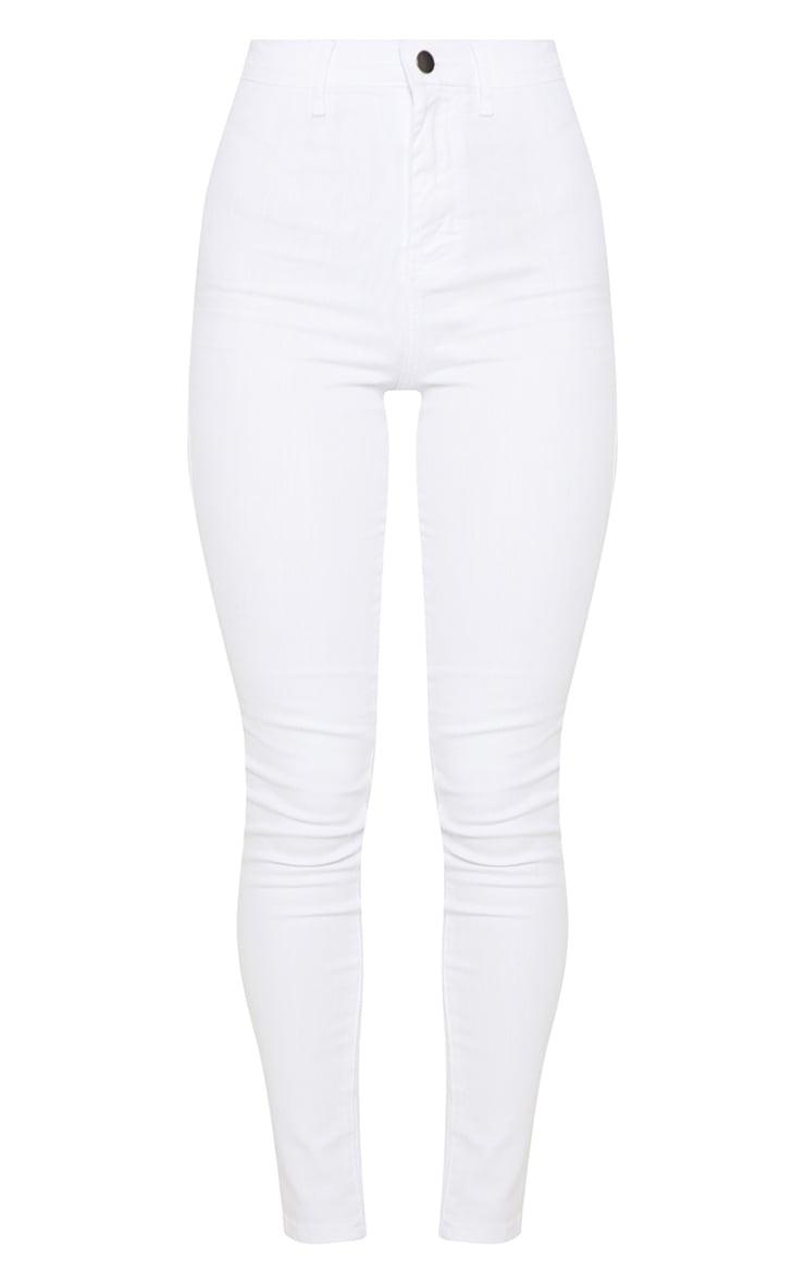 Jean skinny disco blanc 3