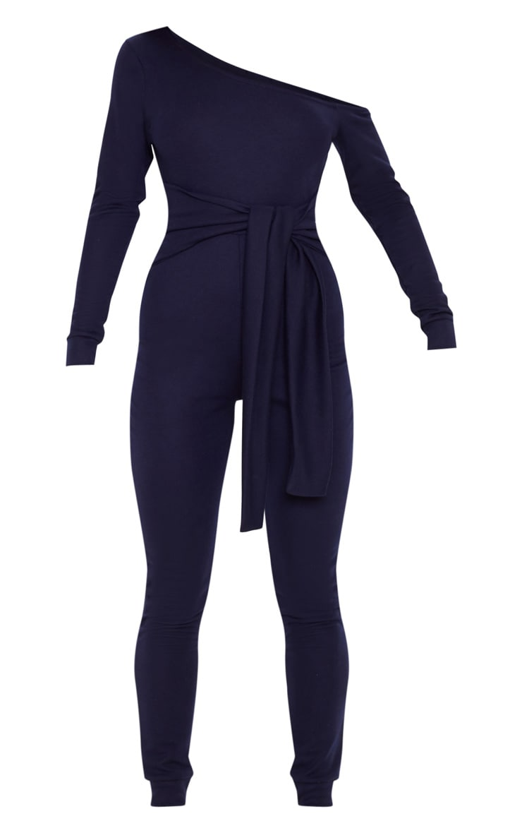 Navy Sweat Jumpsuit 3