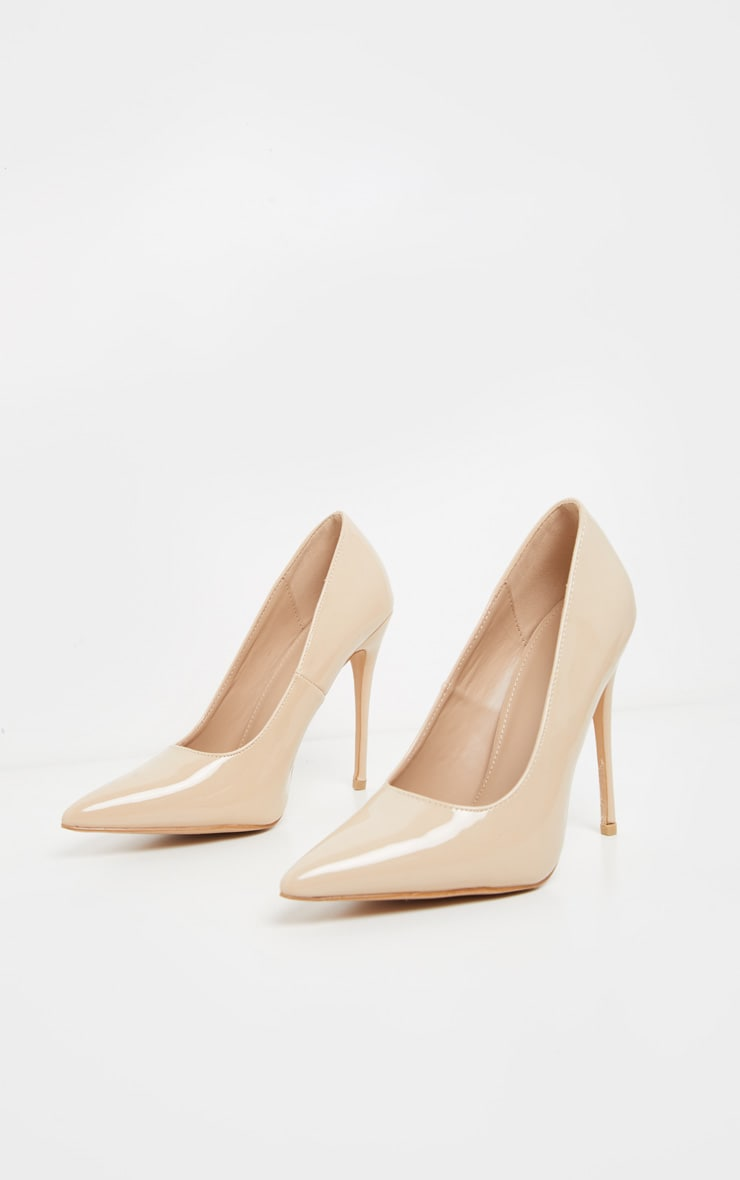 Pale Nude Court Shoe 2