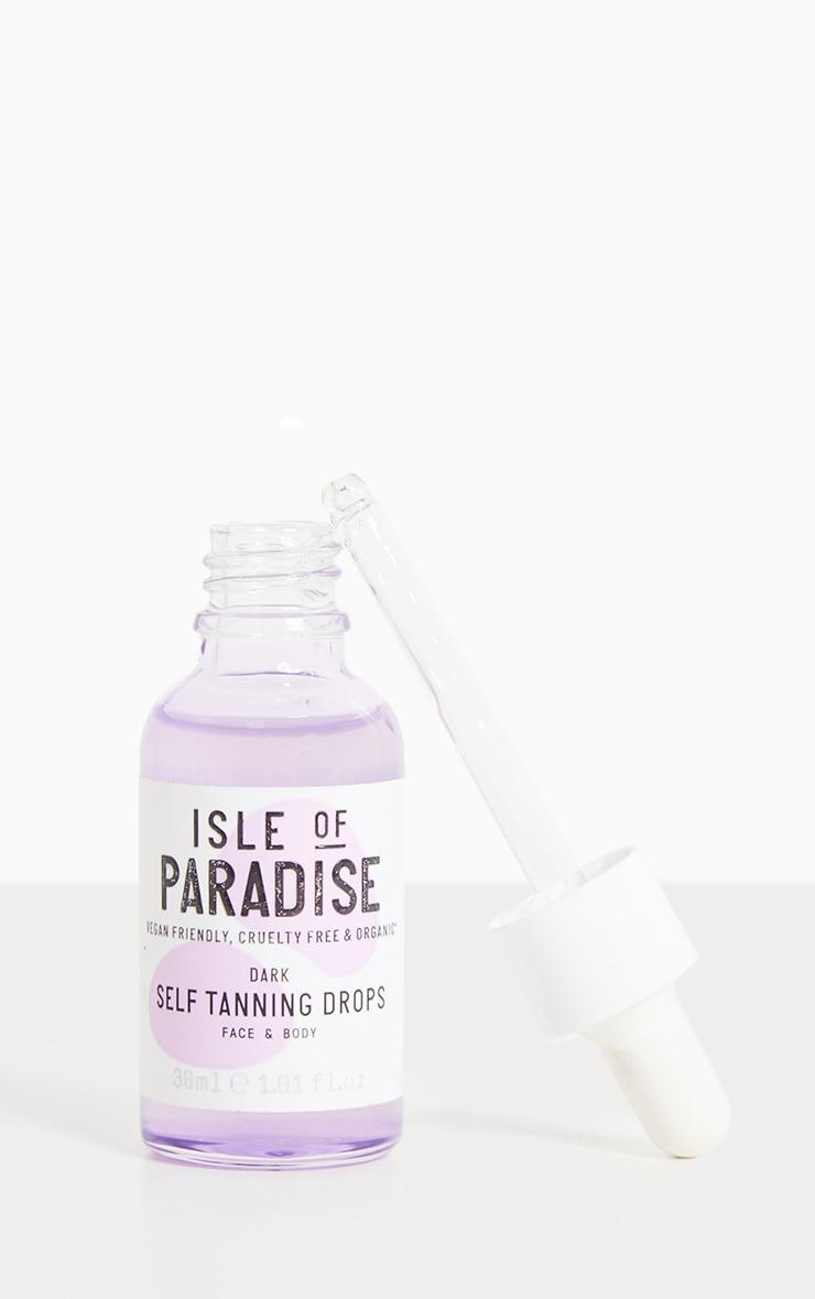 Isle of Paradise Dark Self Tanning Drops 1