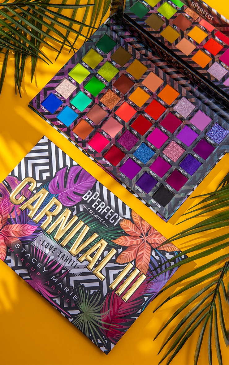 BPerfect Cosmetics x Stacey Marie Carnival III Love Tahiti Eyeshadow Palette 1