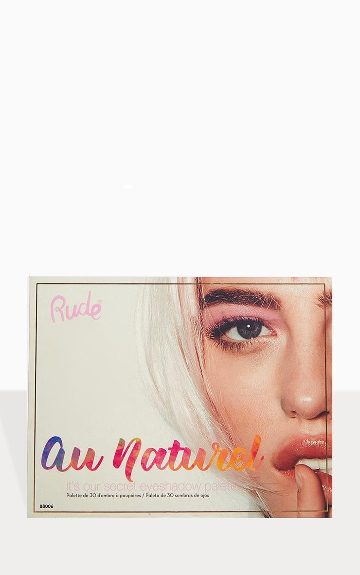 Rude Cosmetics Au Naturel 30 Eyeshadow Palette 2